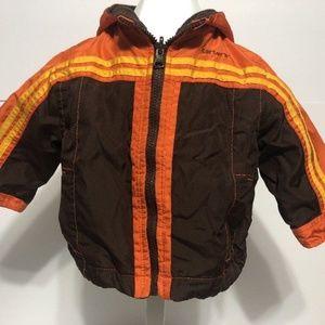 CARTER'S Boys' Reversible Fleece Jacket - Sz 12M